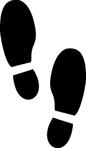 Children walking feet clip art free clipart images 3