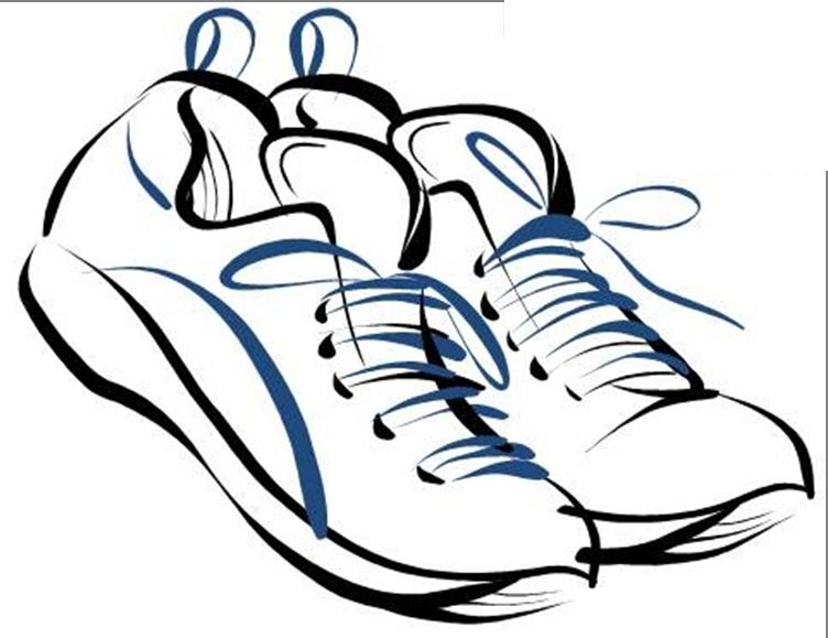 Clip art tennis shoes clipart 4