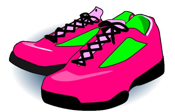 Clip art tennis shoes clipart 7