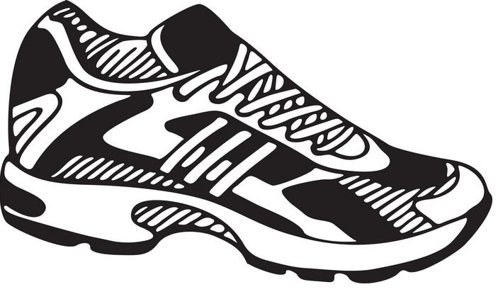 Clip art tennis shoes clipart