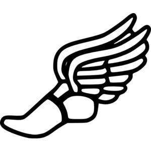 Clip art tennis shoes