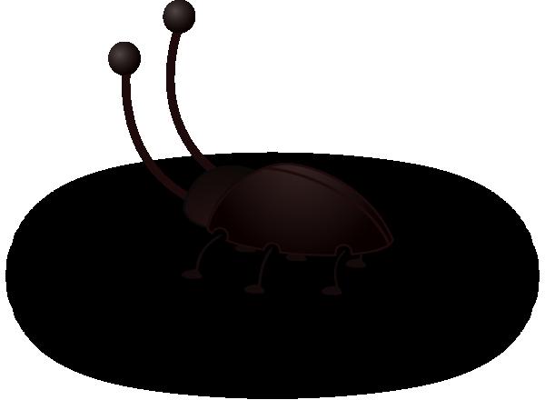 Cockroach bug clip art at vector clip art