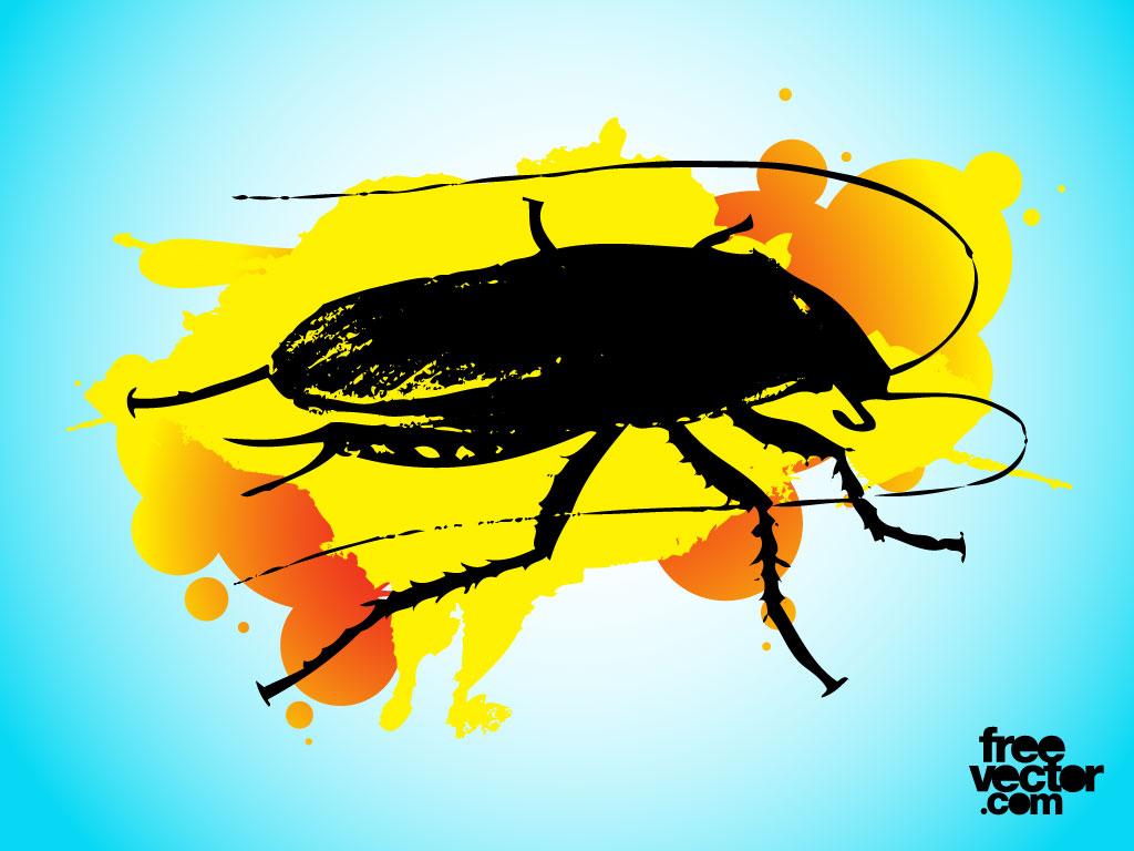 Cockroach illustration clip art