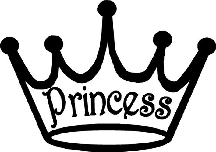 Crown  black and white black and white princess crown clipart clipartfest 2