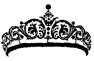 Crown  black and white crown clipart black and white transparent background dfiles