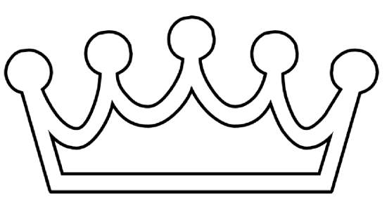 Crown  black and white crown clipart black and white vector free
