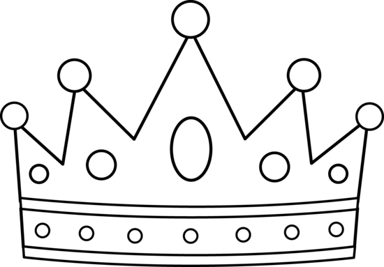 Crown  black and white princess crown clipart black and white free 2