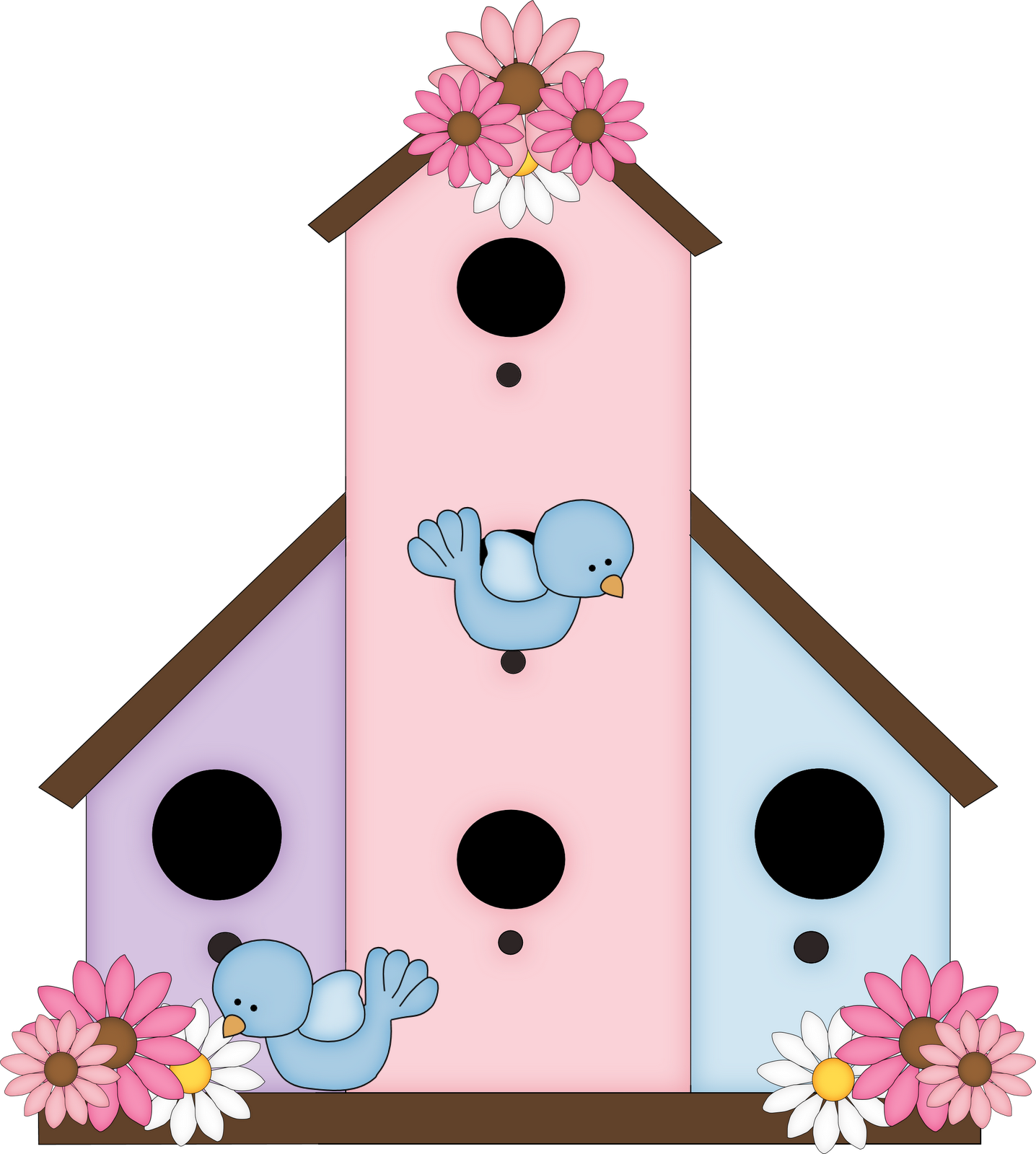 Cute birdhouse clipart free images 5