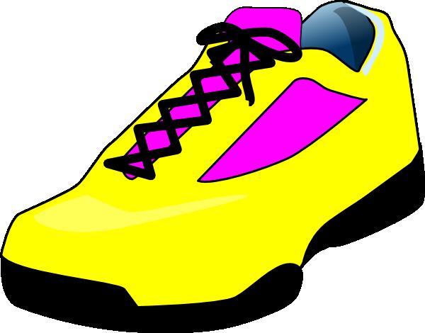 Elegant tennis shoes clipart the cliparts