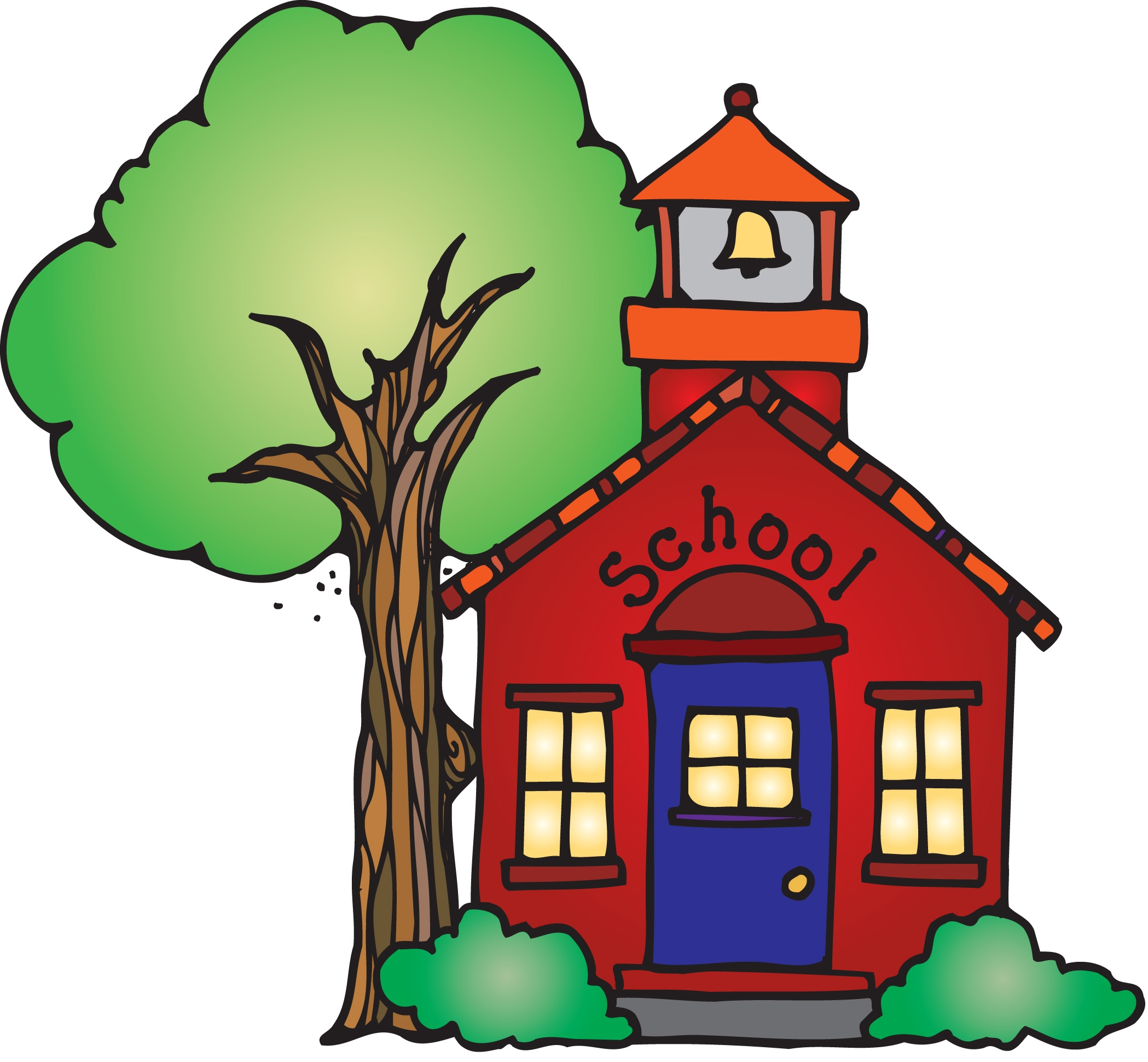 Elementary open house clipart