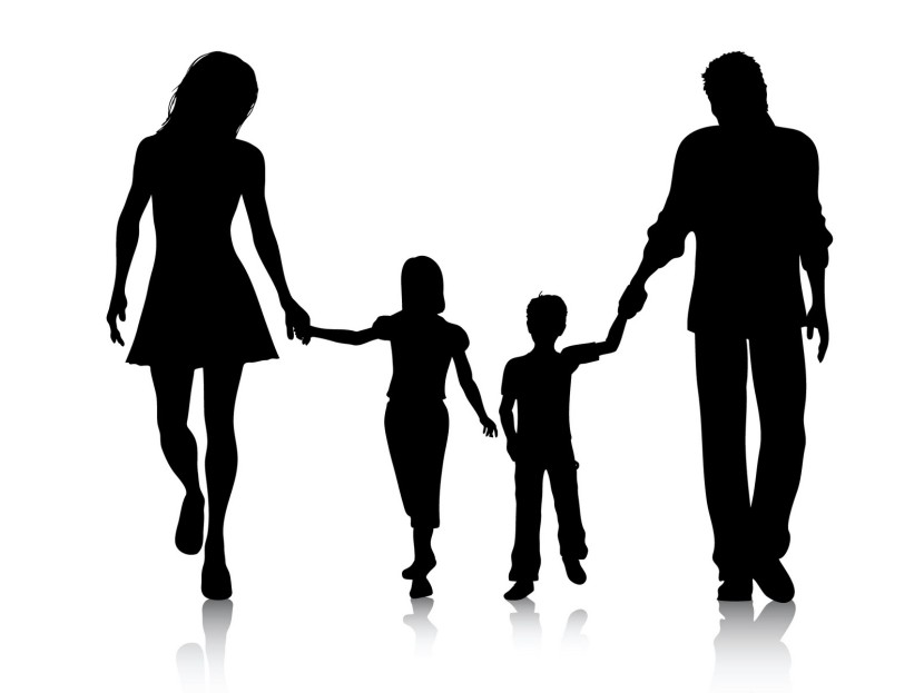 Family  black and white family clipart black and white clipartfest 2
