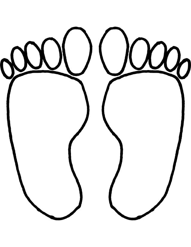 Foot walking feet clipart free images image 4