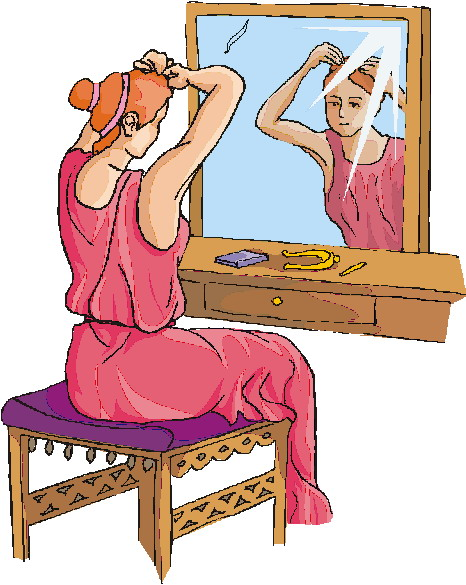 Getting dressed cliparts and others art inspiration 2
