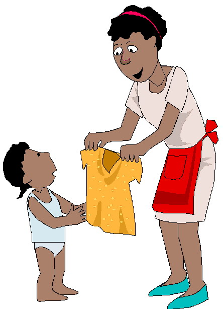 Getting dressed get dressed clipart 4
