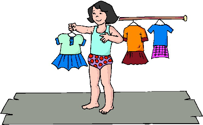 Getting dressed get dressed clipart 7