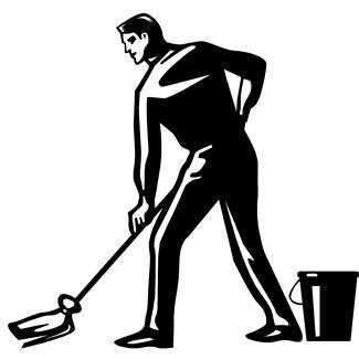 Hotel housekeeping clipart 3