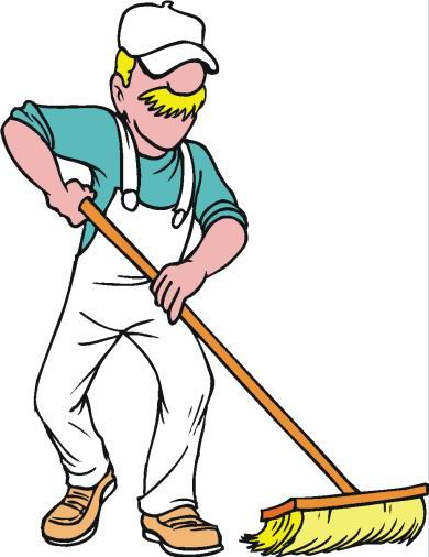 Housekeeping cleaning clip art