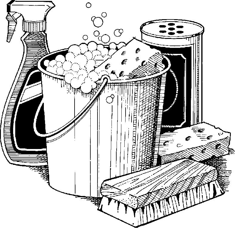 Housekeeping clip art clipart 4
