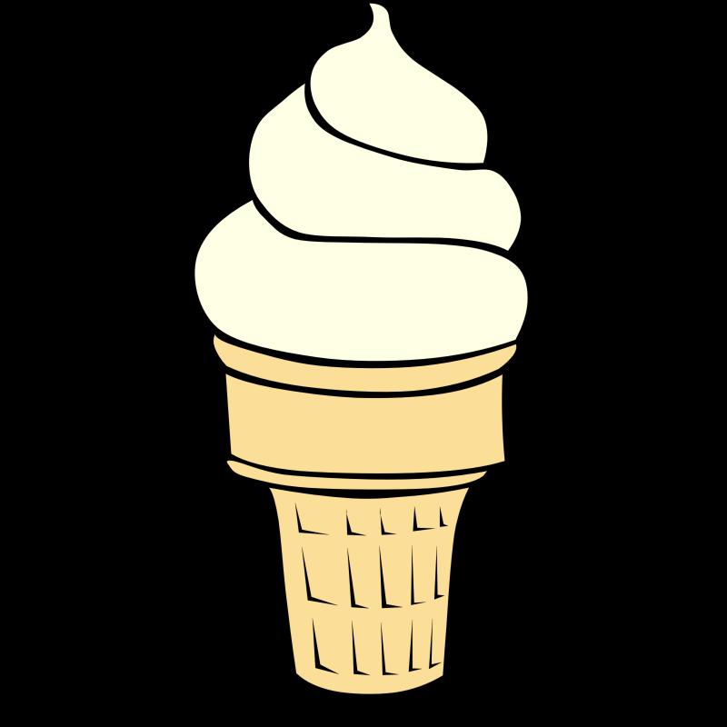Ice cream  black and white ice cream clip art ice images image 0