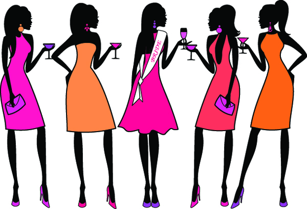 Image of bachelorette clipart 6 clip art