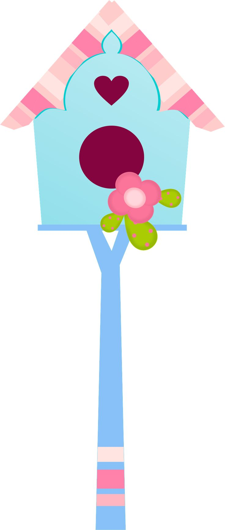Image of birdhouse clipart 1 clip art clipartoons