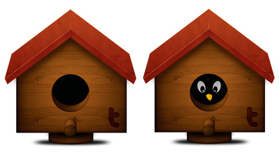 Image of birdhouse clipart 3 bird house free clip art