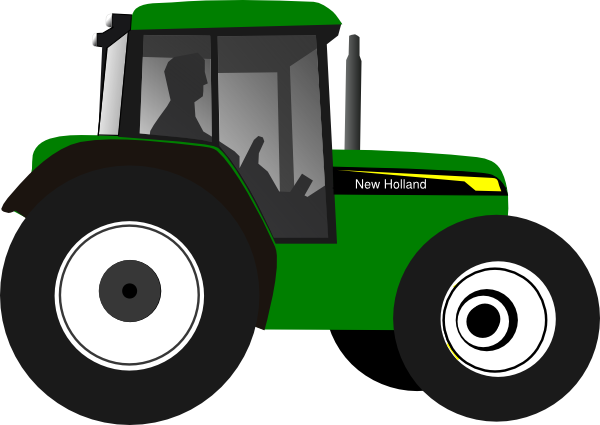 John deere green tractor clip art at vector clip art