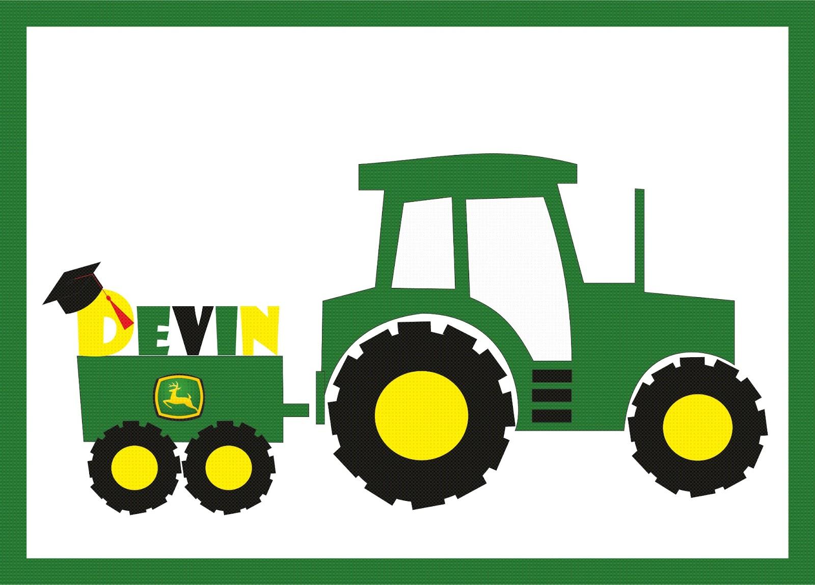 John deere green tractor clipart free images