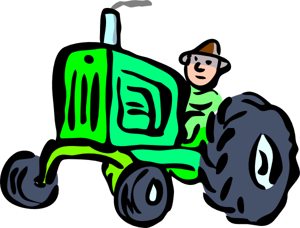 John deere tractor clip art clipart 4