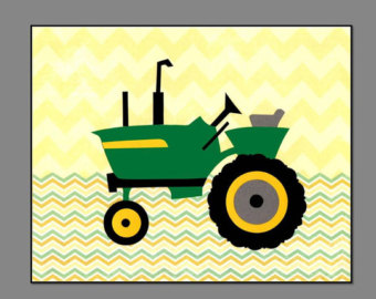 John deere tractor clip art clipart