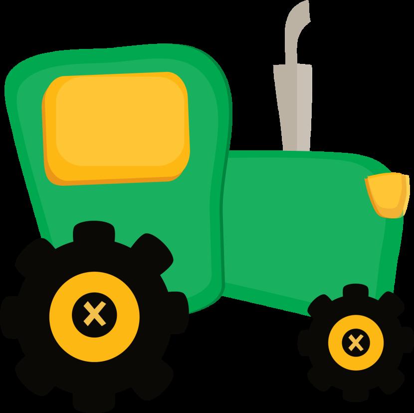 John deere tractor clipart 10