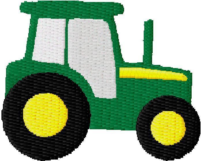 John deere tractor clipart 3