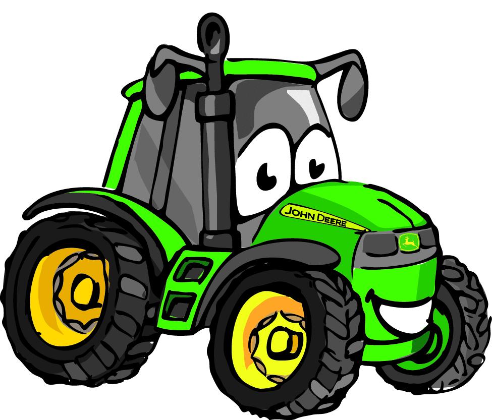 John deere tractor clipart 9