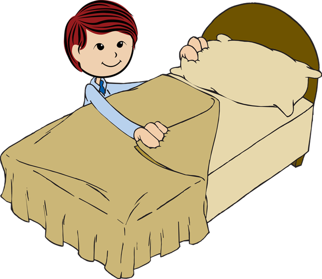 Make bed clipart 2