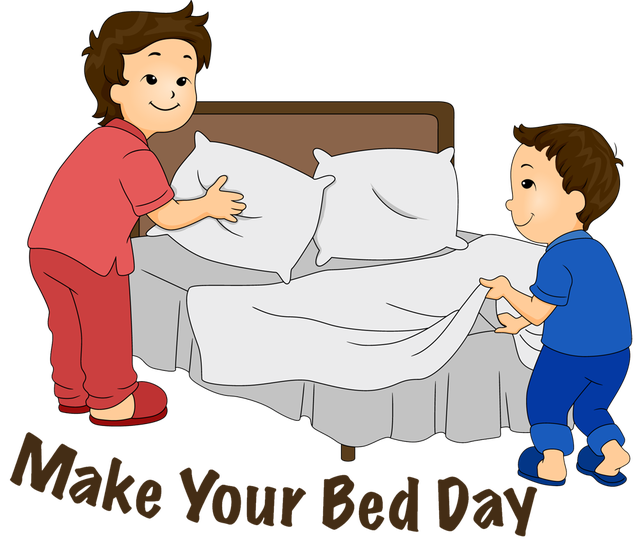Make bed clipart 4