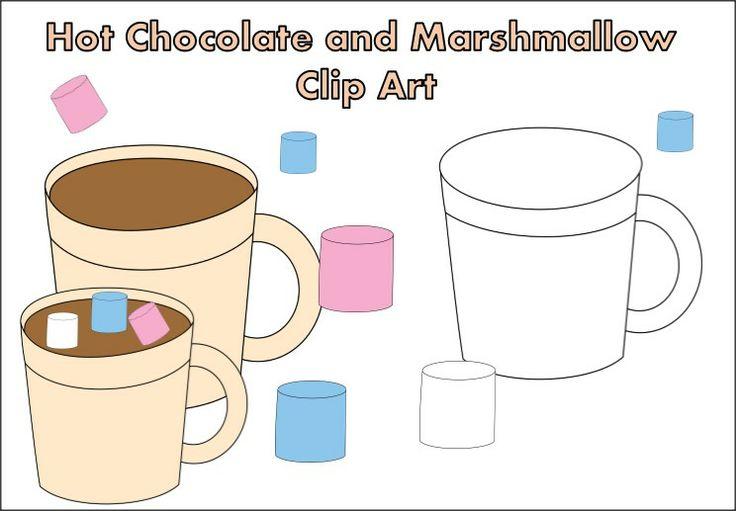 Marshmallow clip art 9