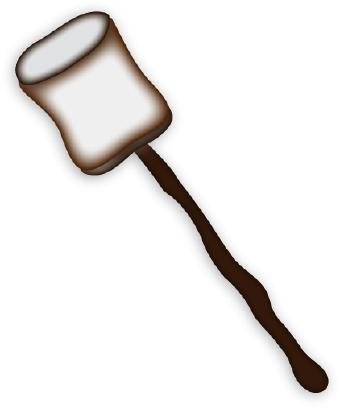 Marshmallow clipart 4