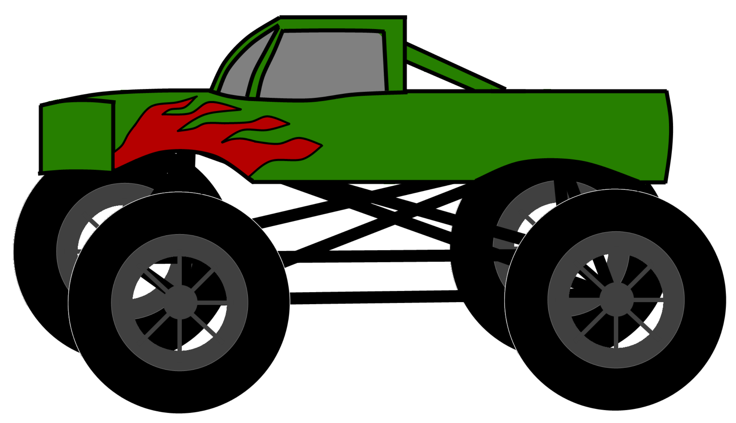 Monster truck clip art pictures free clipart images 2