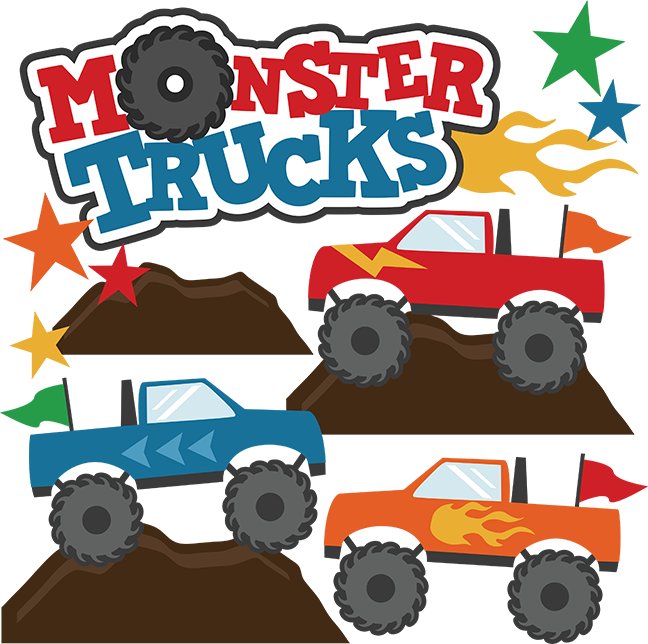 Monster truck clip art pictures free clipart images 4