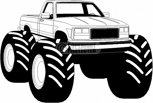 Monster truck clip art pictures free clipart images 5