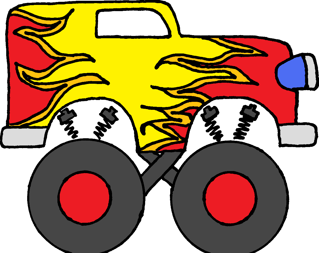 Monster truck clip art pictures free clipart images 6