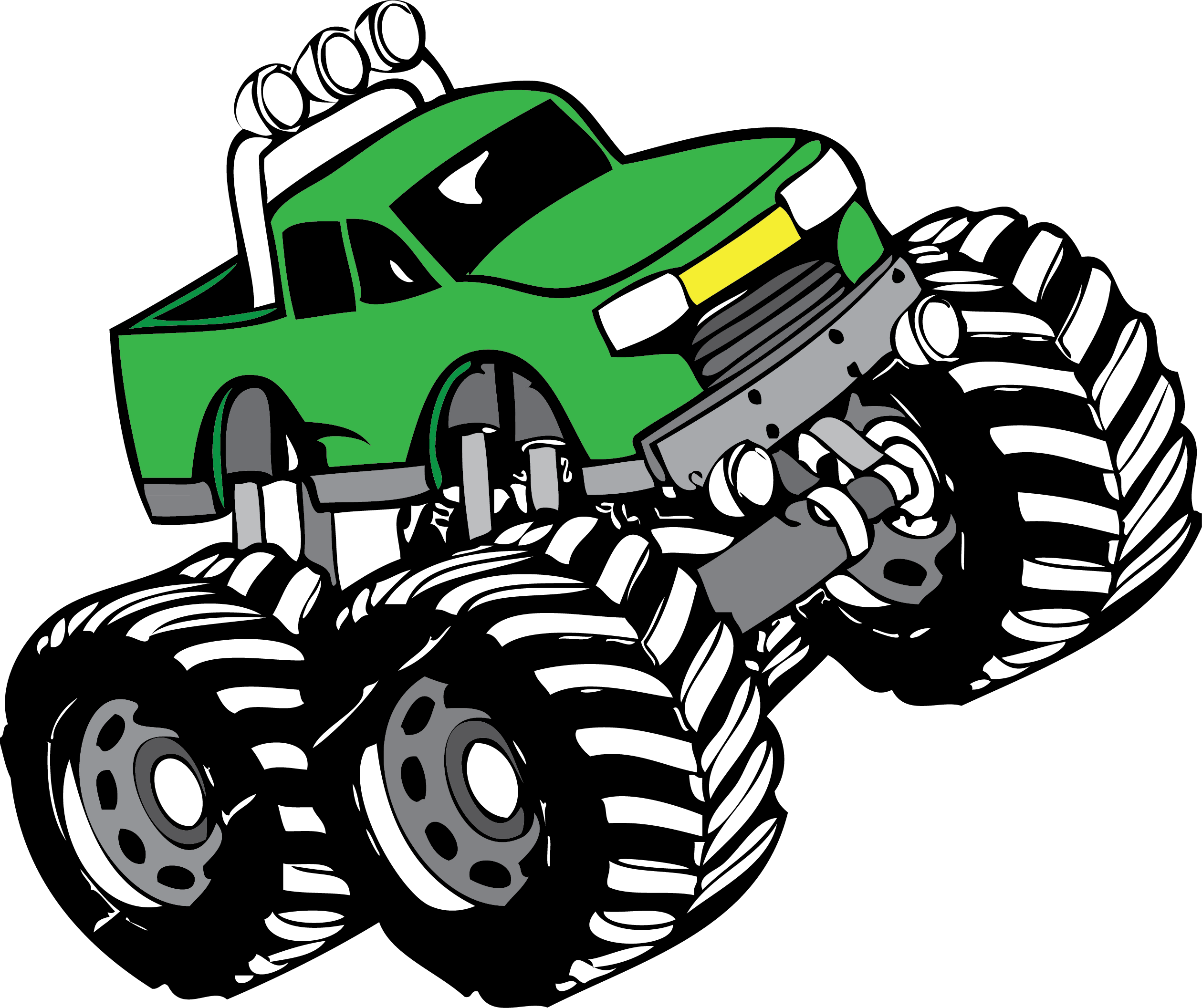 Monster truck clip art pictures free clipart images