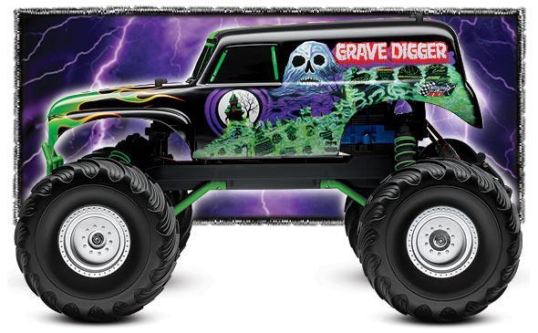 Monster truck grave digger clipart clipartfest 4