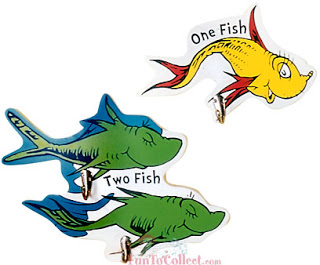 Oh the places you'll go dr seuss red fish clipart