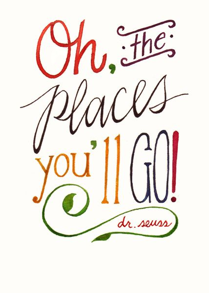 Oh the places you'll go oh the places you ll go clipart