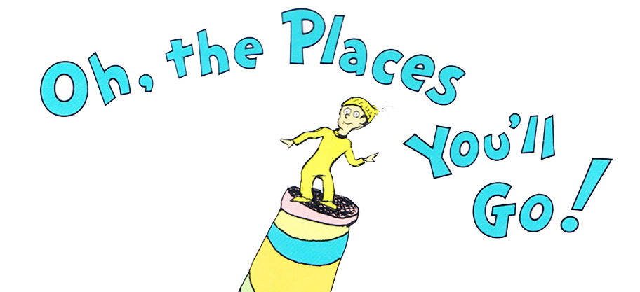 Oh the places you'll go oh the places you ll go clipart 3