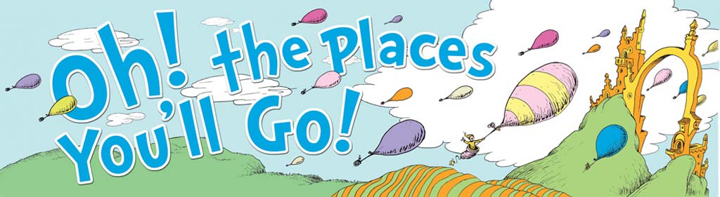 Oh the places you'll go oh the places you ll go clipart 9