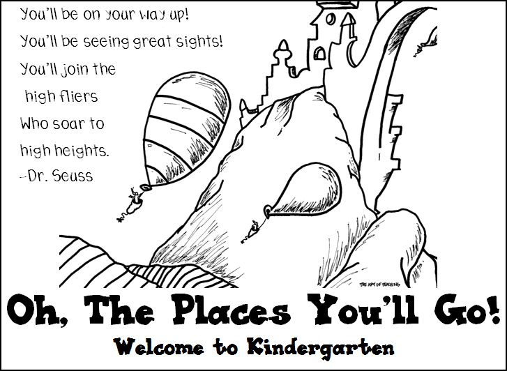 Oh the places you'll go photos of black and white oh the places you clipart