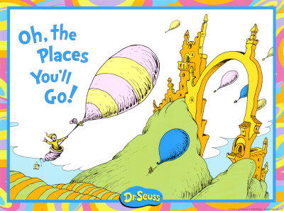 Oh the places you'll go you go clipart