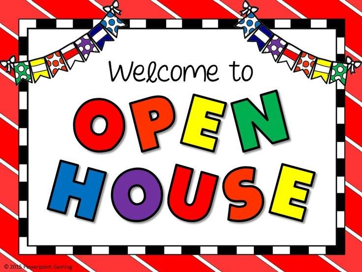 Open house clipart 4